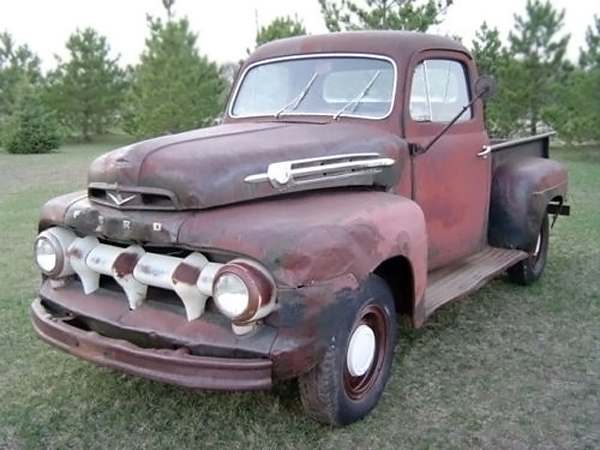Craigslist Ford F100 For Sale >> Five-Star Ford: 1952 Ford F1 Deluxe Pickup