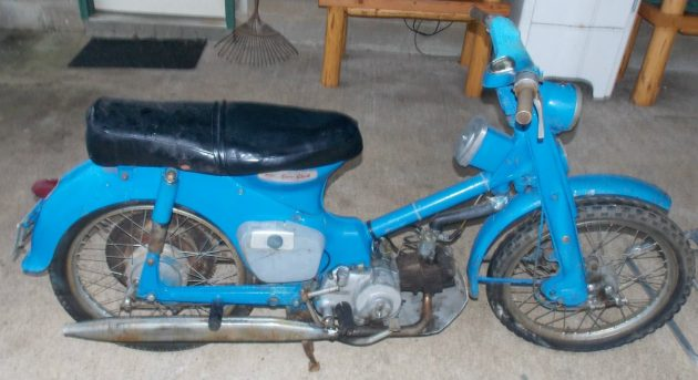 052716 Barn Finds - 1960 HONDA C100 - 1