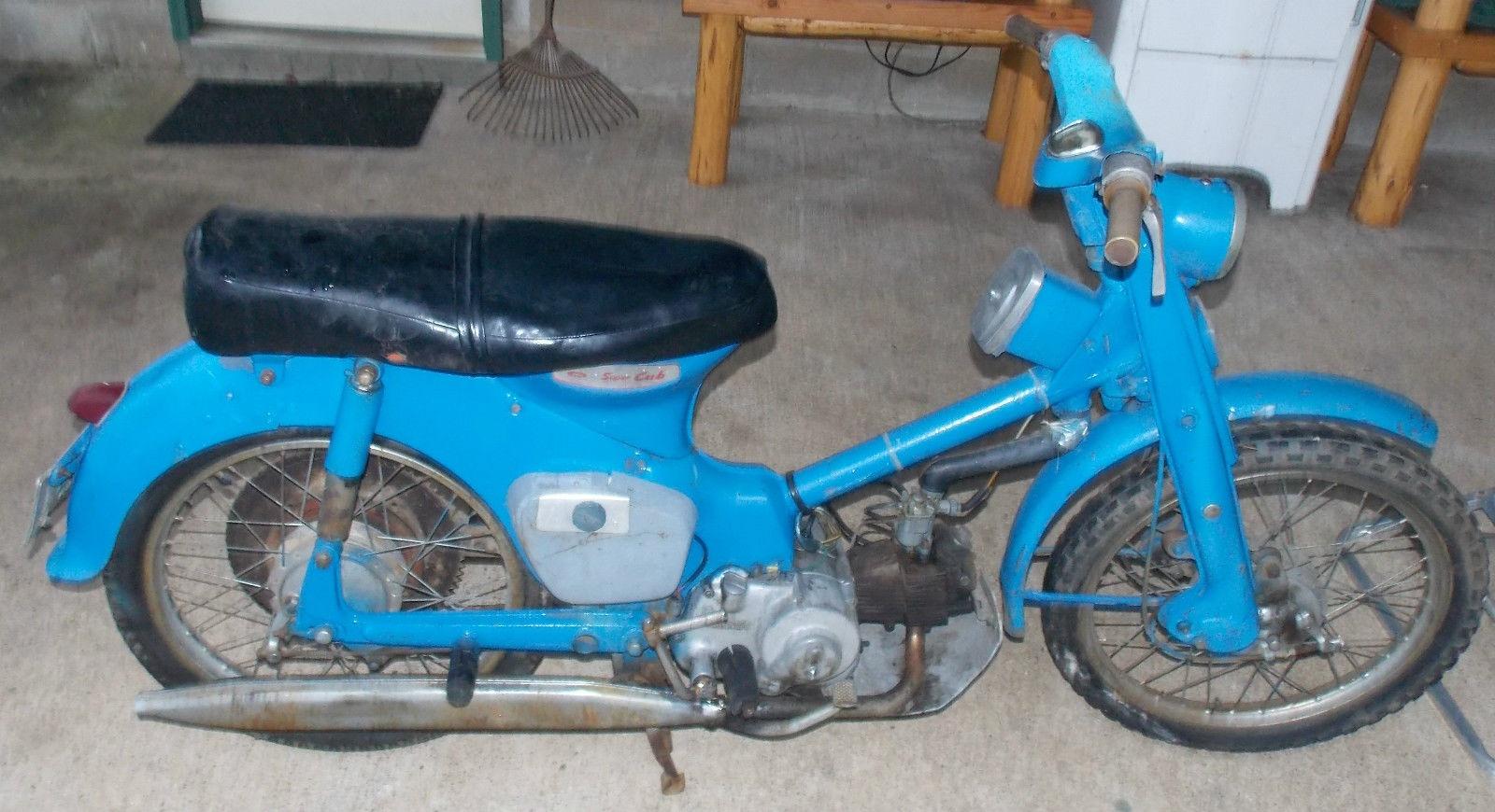 Granddaddy 1960 Honda Super Cub 50 Ca77 1967 Wiring Diagram