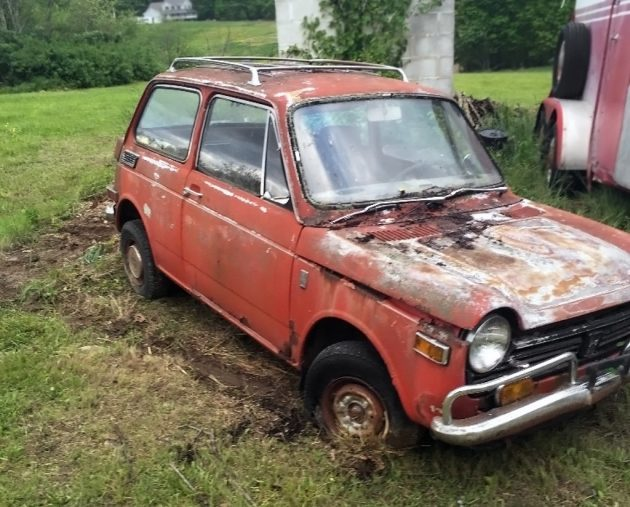 052716 Barn Finds - 1971 Honda 600 - 1
