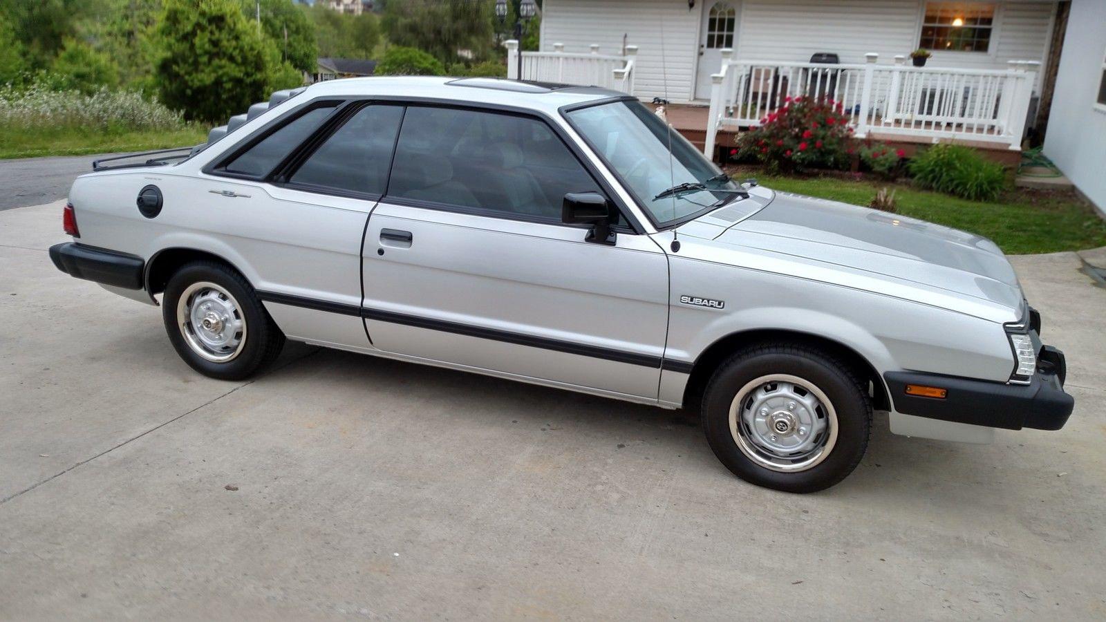 A Decade Too Late 1984 Subaru Gl 10 Coupe