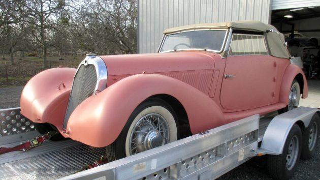 1938 Talbot Lago 23T Drophead