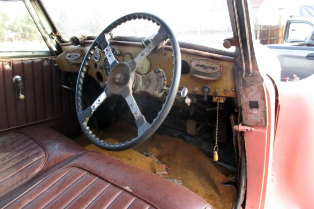 1938 Talbot Lago 23T Interior