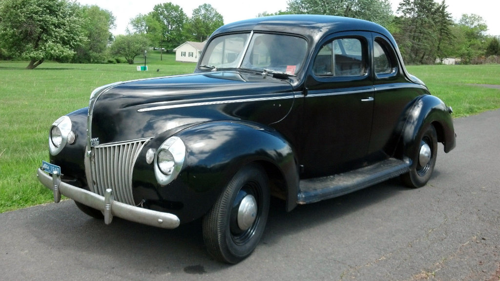 Ford V Coupe