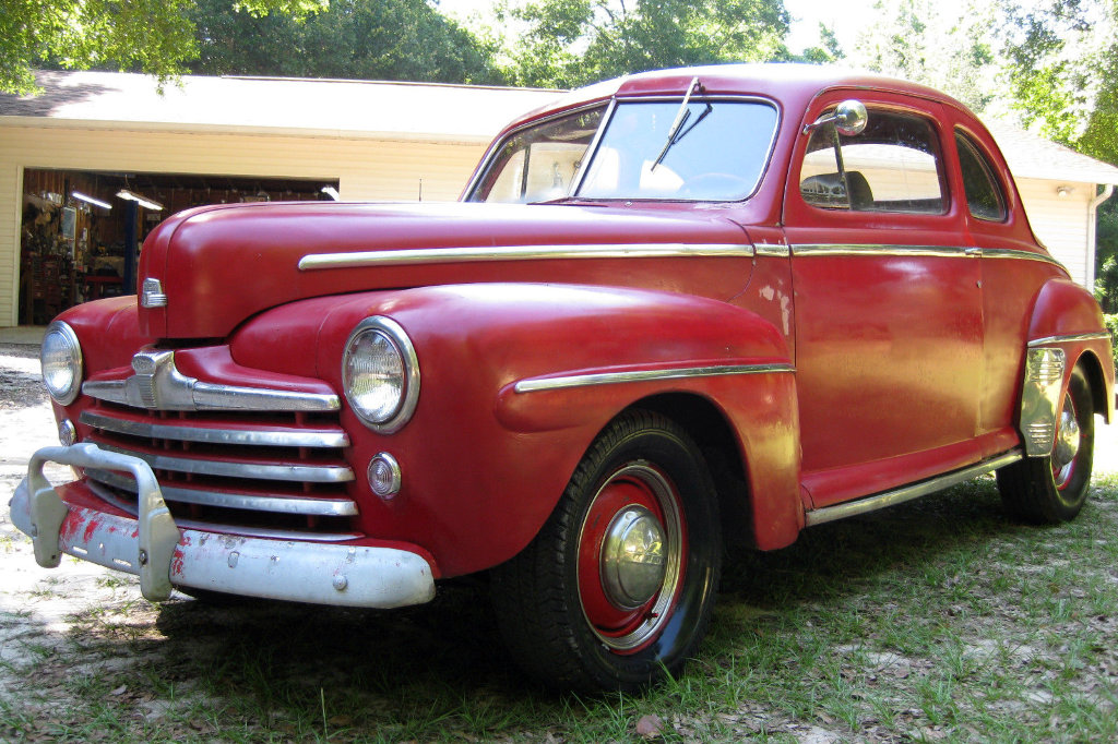 Fords For Sale >> Red Gone Wrong: 1947 Ford Coupe