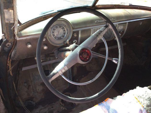 1949 Chevrolet Deluxe Interior