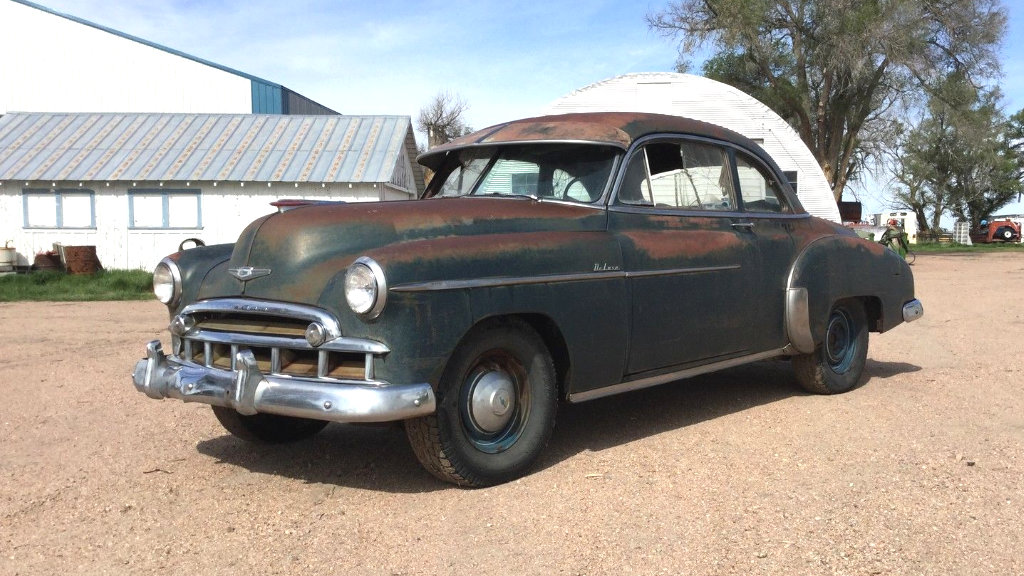 Classy Coupe 1949 Chevrolet Deluxe