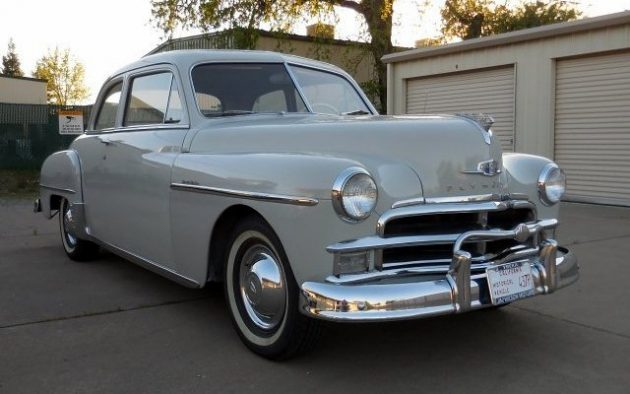 Sensible Classic: 1950 Plymouth Special Deluxe