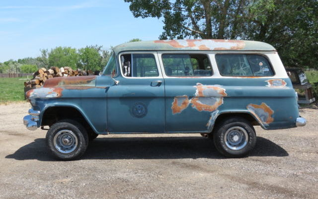 Work Vans For Sale >> NAPCO 4x4: 1955 GMC Suburban