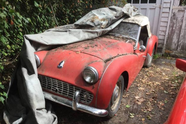 Tarps For Sale >> Tarp Trap: 1957 Triumph TR3A
