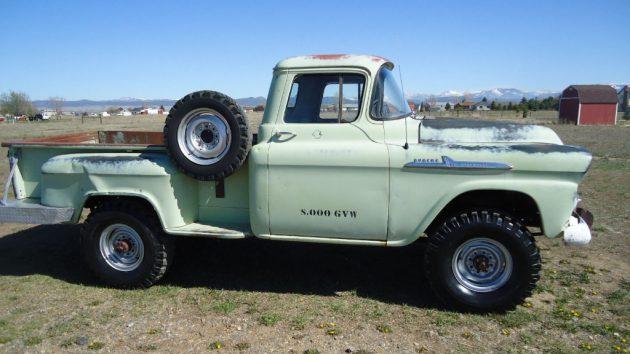 1958 Chevrolet 3600 Napco