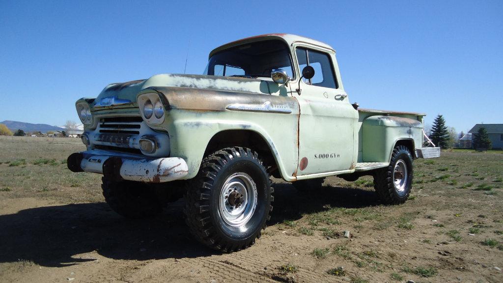 Napco Equipped: 1958 Chevrolet 3600