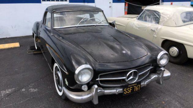 1961 Mercedes 190SL