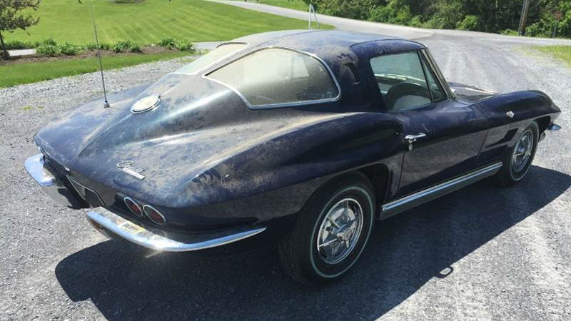 Needs new rugs 1963 corvette split window for 1963 split window corvette project for sale