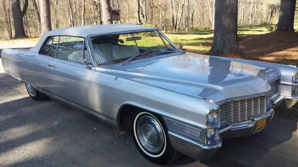 Land Yacht: 1965 Cadillac Eldorado Convertible