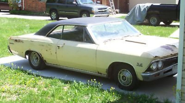 Rough 1966 Chevelle SS396 Project