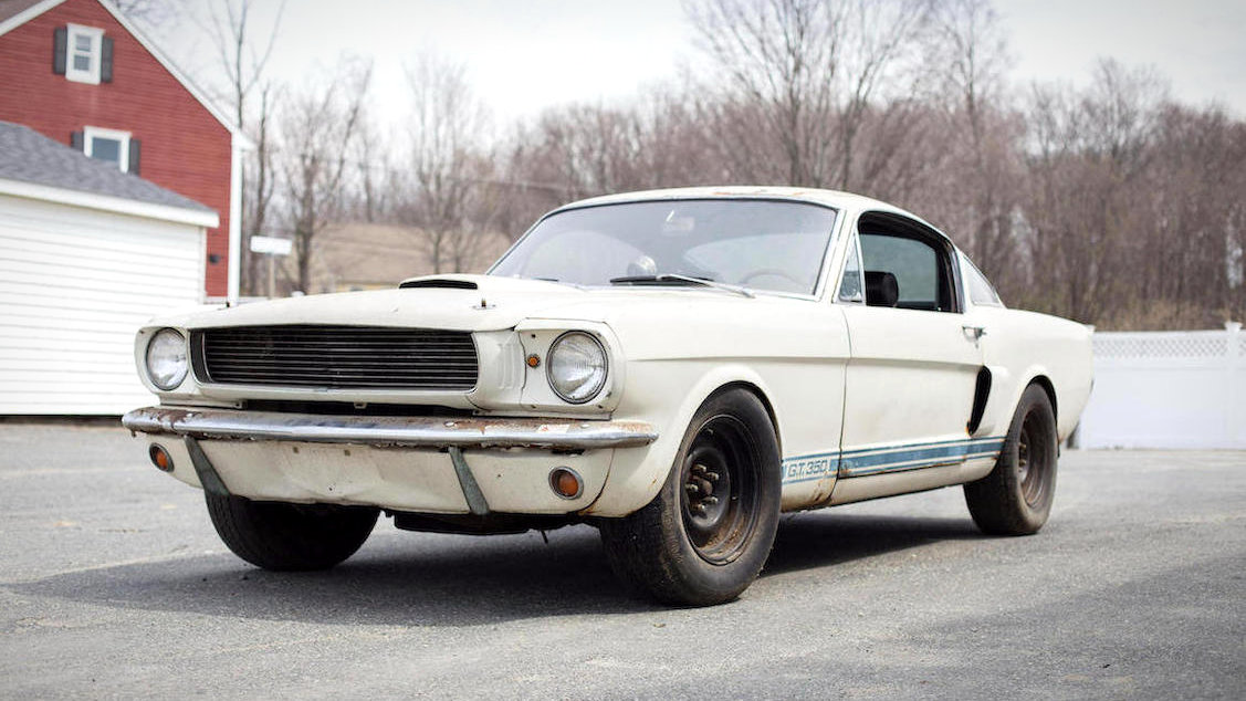 One Owner Racer 1966 Shelby Gt 350