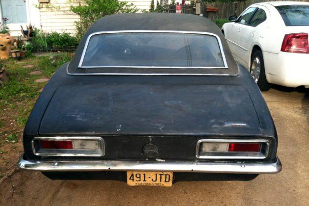 1967 Camaro Garage Find