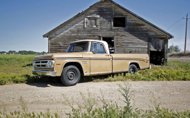 Our 1970 Dodge D100 Is Up For Auction!
