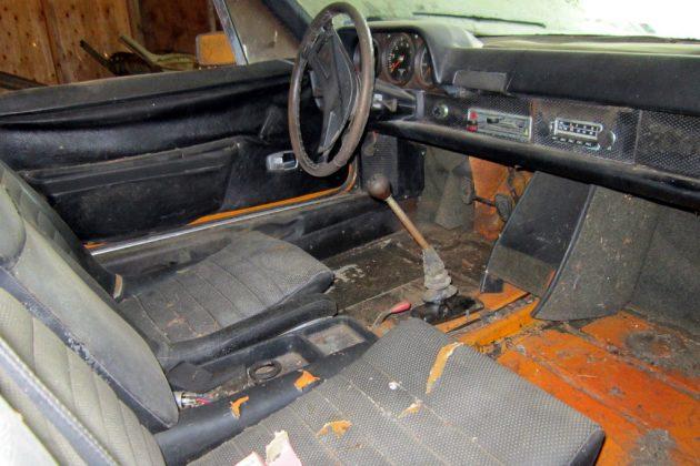 1970 Porsche 914-6 Interior