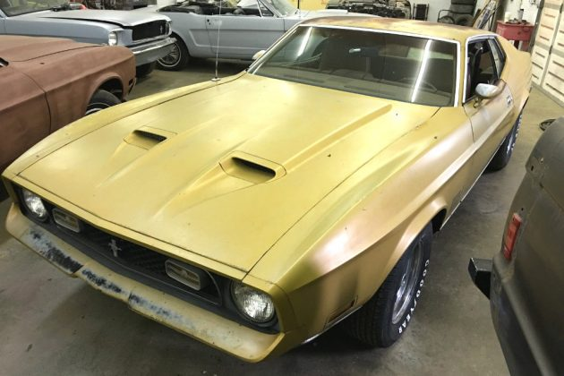 Can You Find A Better: 1972 Mustang Mach 1 CJ