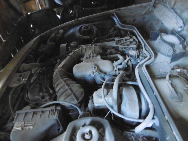 1977 Porsche 924 Engine