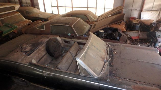 Barn Flood 1978 Camaro
