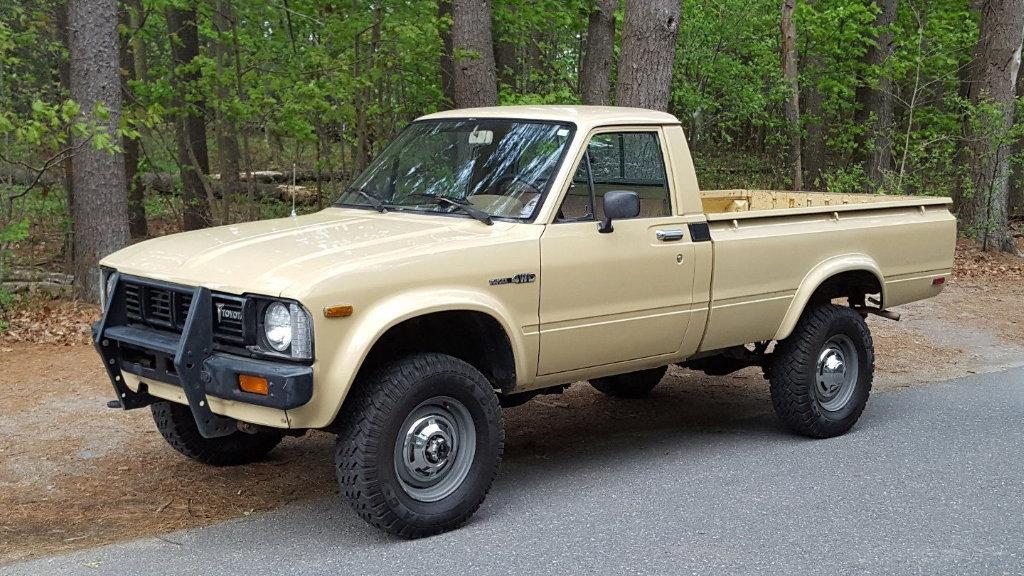 Original Hauler 1980 Toyota Hilux