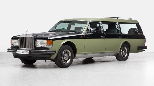 Ultimate Grocery Getter: Rolls-Royce Station Wagon!