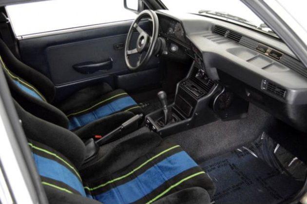 1986 BMW Alpina C1 2.3 Interior
