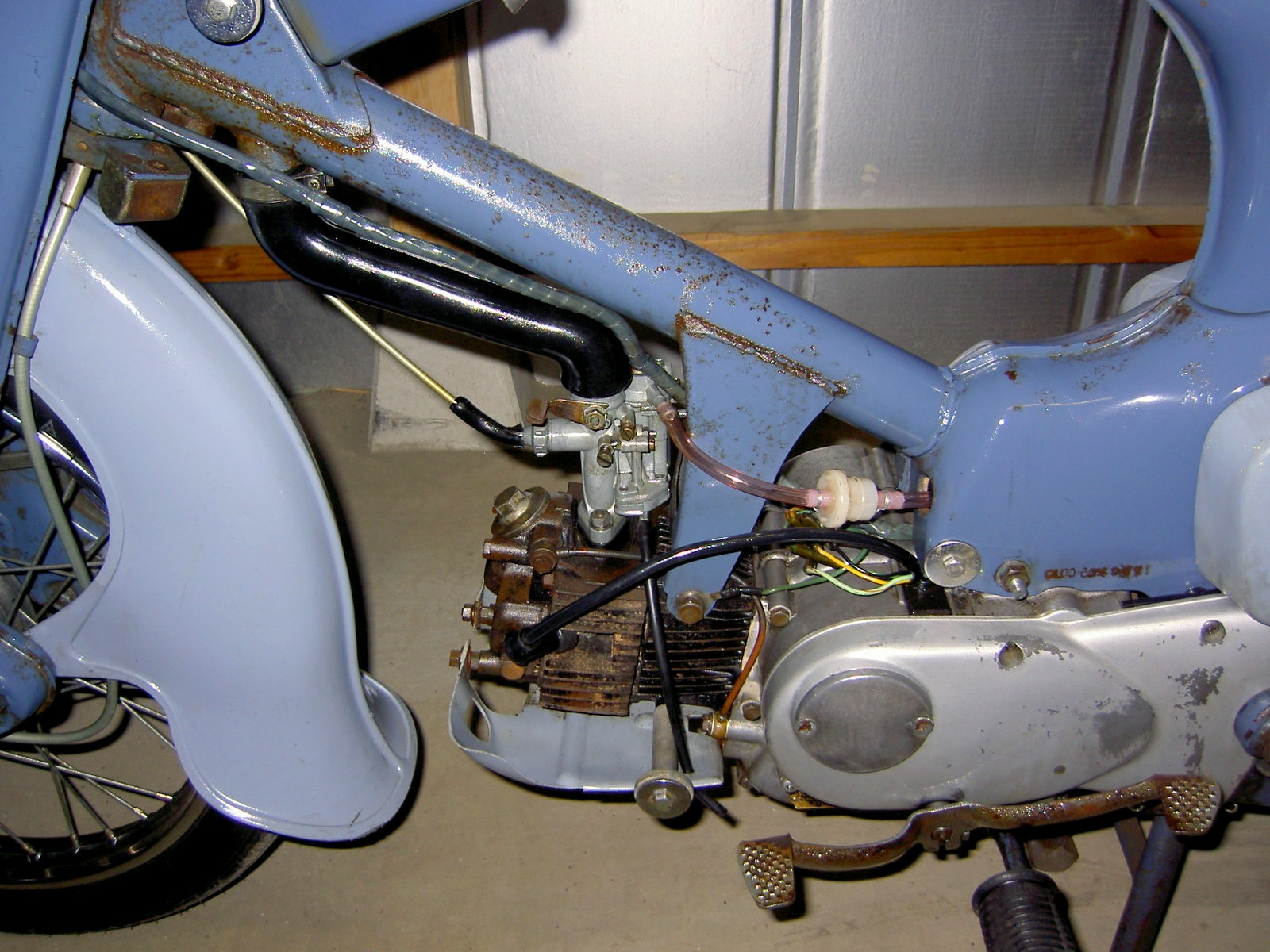 Granddaddy 1960 Honda Super Cub 50