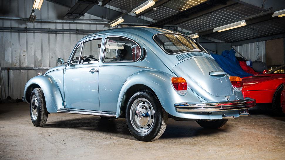 56 Mile 1974 Volkswagen Beetle!