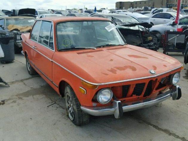 Copart Find: 1973 BMW 2002 Tii