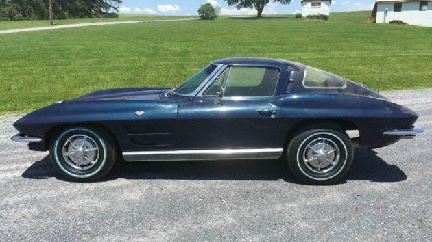 Dusty 1963 Corvette Coupe