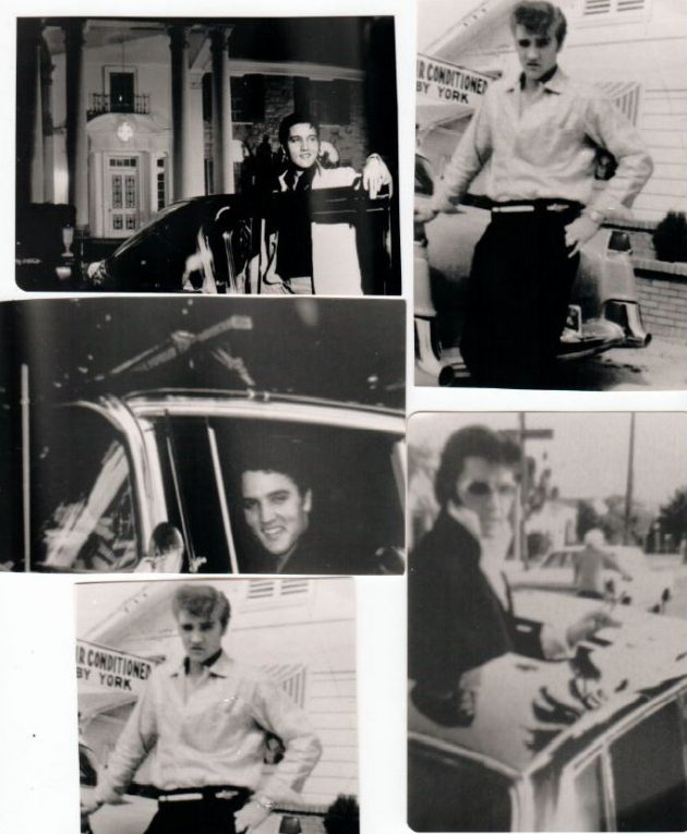 Elvis With Caddy