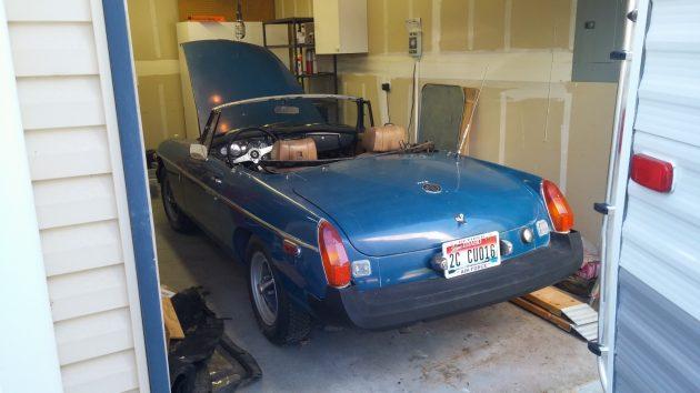 MGB Garage Find