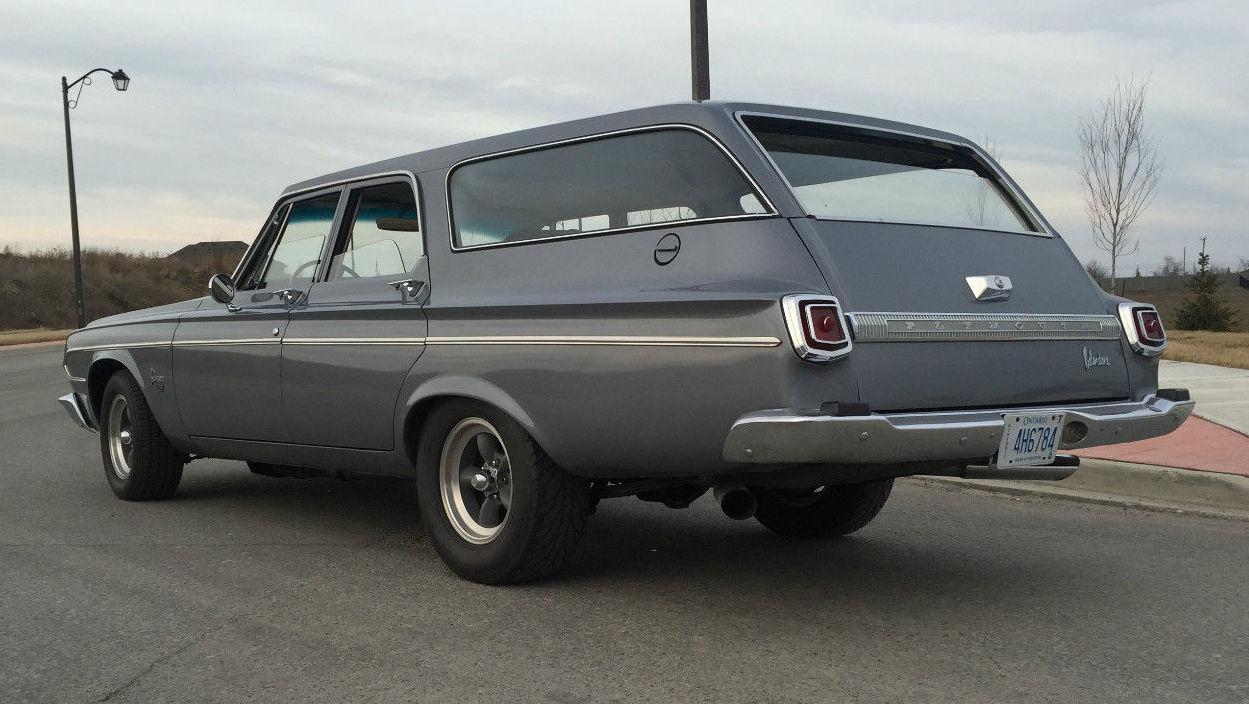 Hemi Muscle Wagon 1964 Plymouth Belvedere