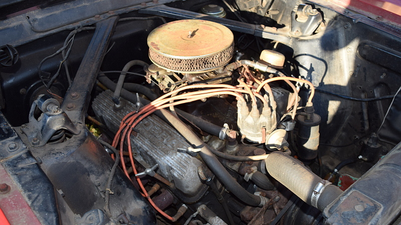 Mystery Engine: 1965 Ford Mustang GT