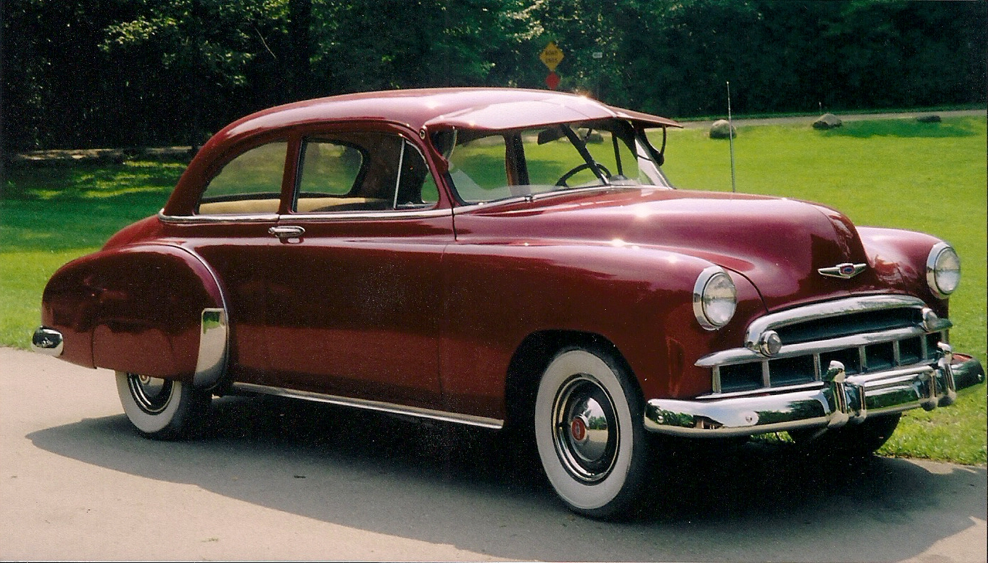 How Much To Repaint A Car >> Classy Coupe: 1949 Chevrolet Deluxe