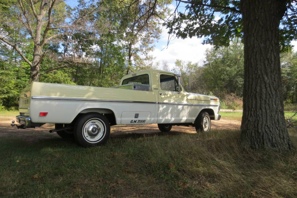 1967 Ford F100 For Sale Craigslist >> 35 500 Miles 1968 Ford F 100 Survivor