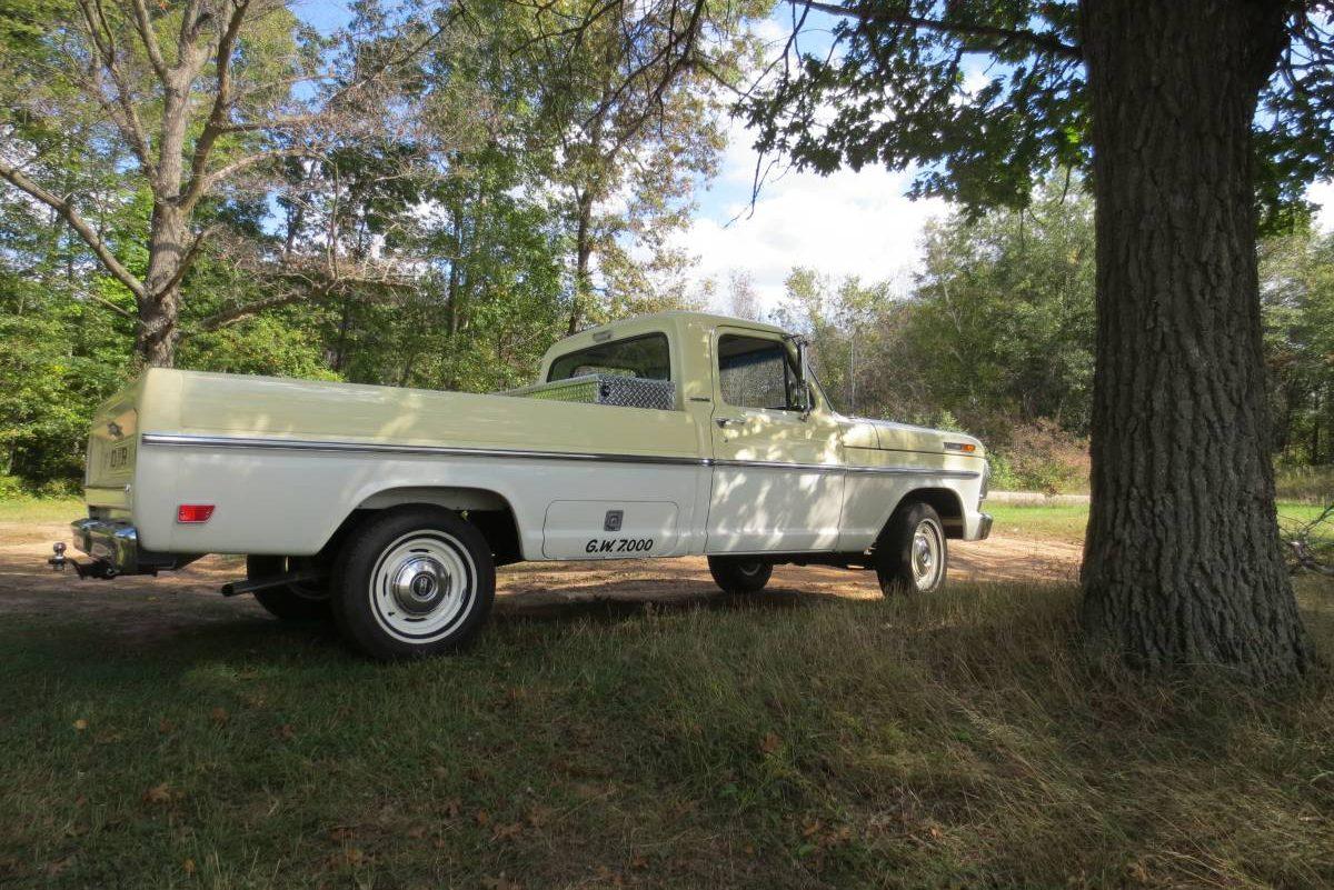1967 Ford F250 For Sale Craigslist 2019 2020 Top Car Designs 1961 F 250 4x4 Truck 35 500 Miles 1968 100 Survivor