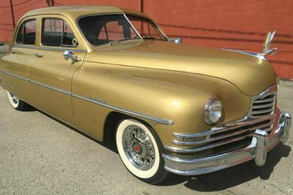Golden Beauty: 1949 50th Annivesary Packard