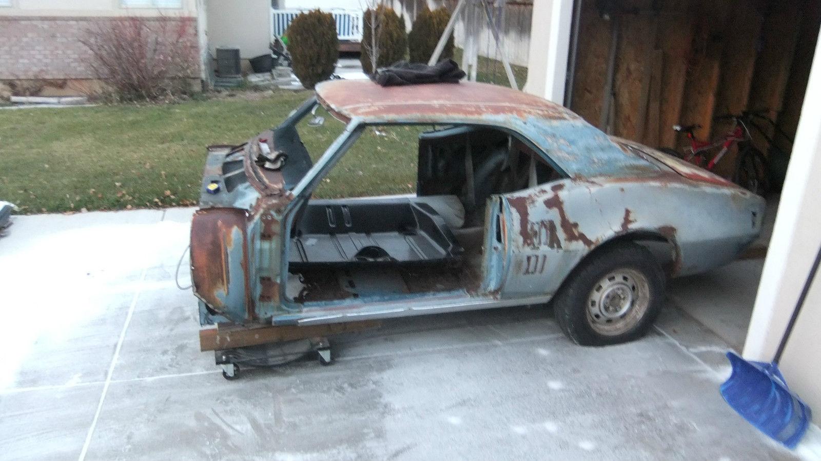 Poncho Garage Project 1968 Pontiac Firebird