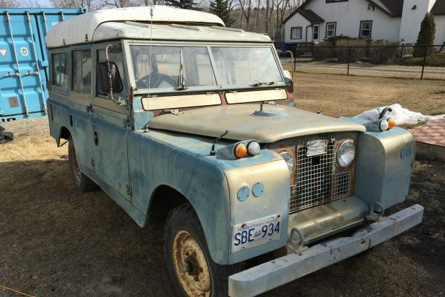 Spousal Approval Needed: 1966 Land Rover Dormobile