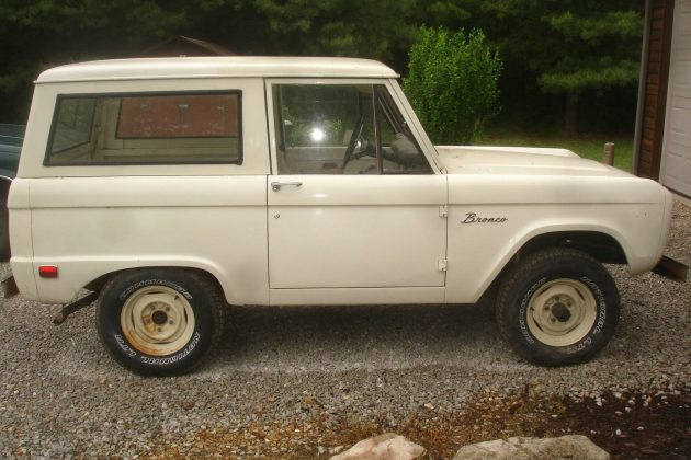 A Little Less Expensive: 1969 Ford Bronco