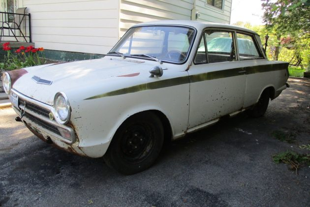 Oh, The Rust Of It! 1966 Lotus Cortina