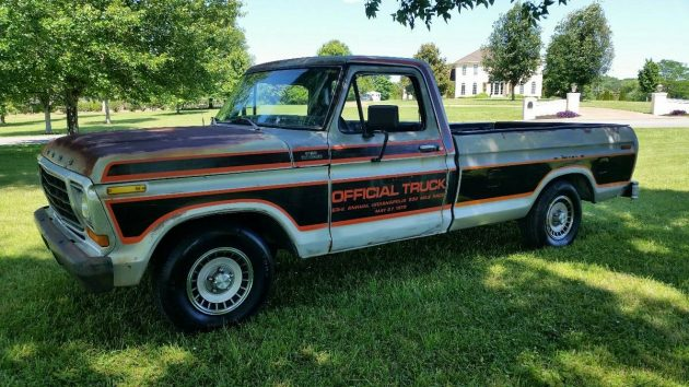 Indy 500 Rarity: 1979 Ford F100 Official Truck Replica