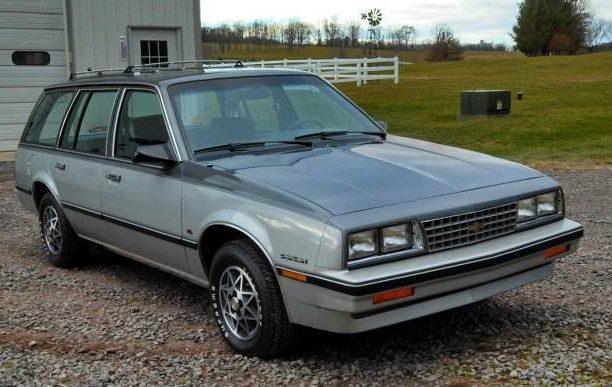 1,202 Original Miles: 1985 Chevy Cavalier Wagon