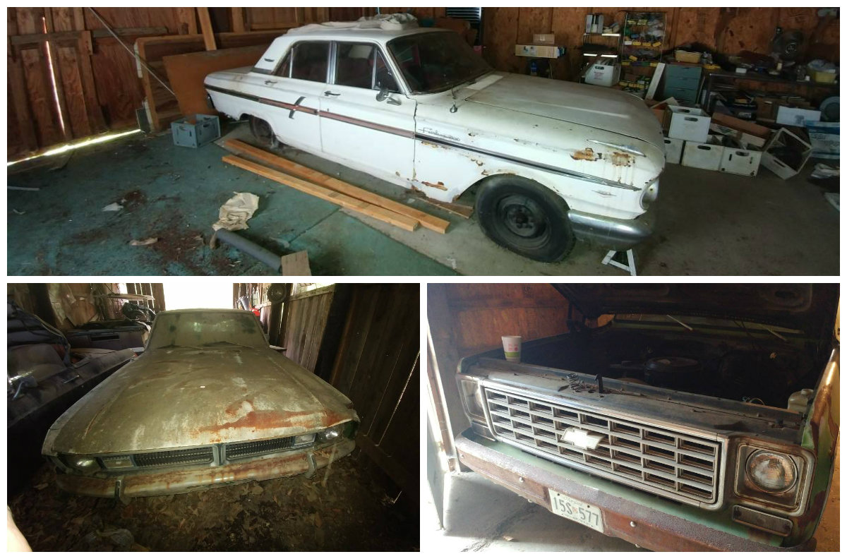 3-Fer! Three Barn Finds For $3,750