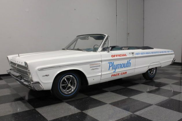 Indy 500 Time: 1965 Pace Car Replica Plymouth Fury
